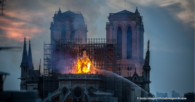 Notre Dame Fire Under Control Hours after Spire Collapsed