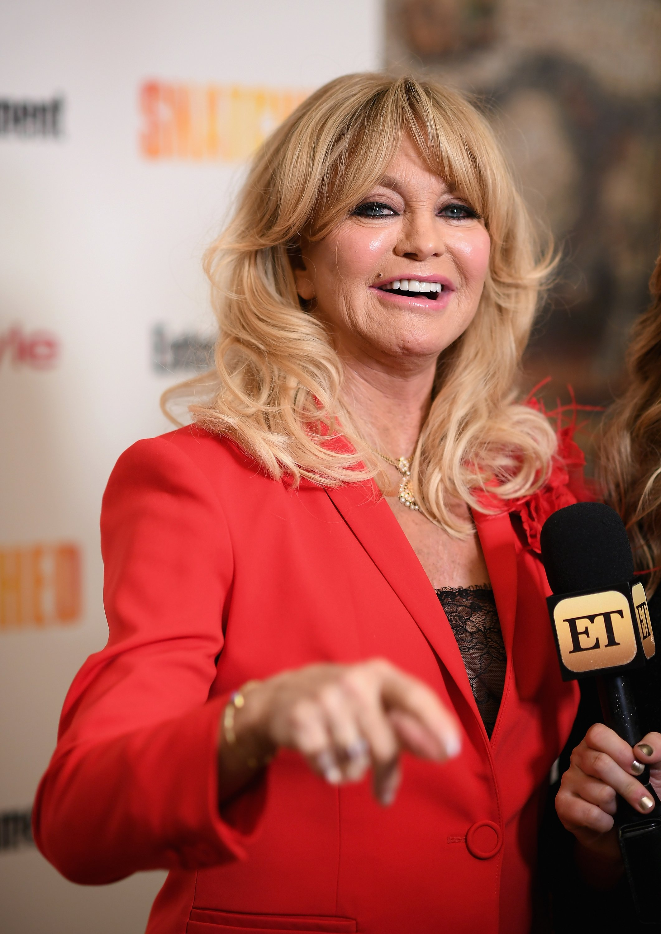 """Goldie Hawn attends the """"Snatched"""" New York Premiere on May 2, 2017, in New York City. 