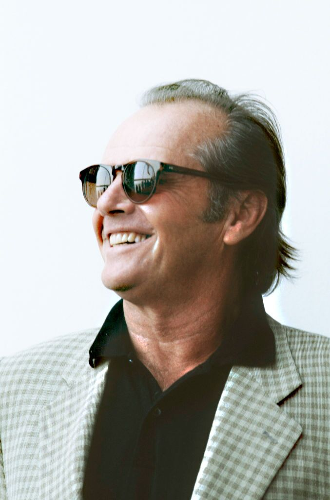 Jack Nicholson, American actor, producer, screen-writer and directo a three-time Academy Award winner, Lido di Venezia, Italy, 13th September 1995 | Photo: Getty Images