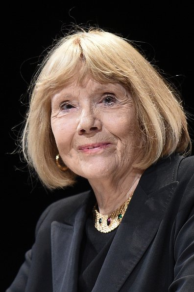 Dame Diana Rigg, le 05 avril 2019 à Cannes, France. | Photo : Getty Images