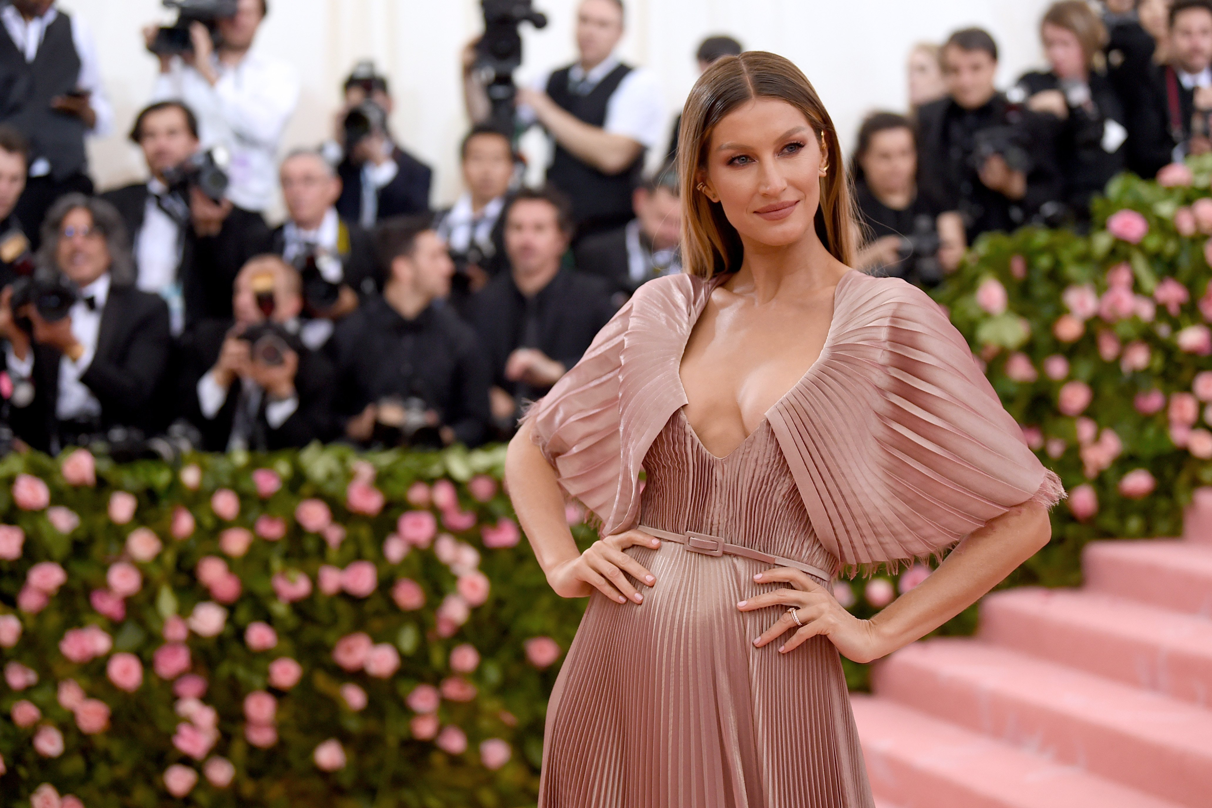 Supermodel Gisele Bundchen during the 2019 Met Gala in New York City. | Photo: Getty Images