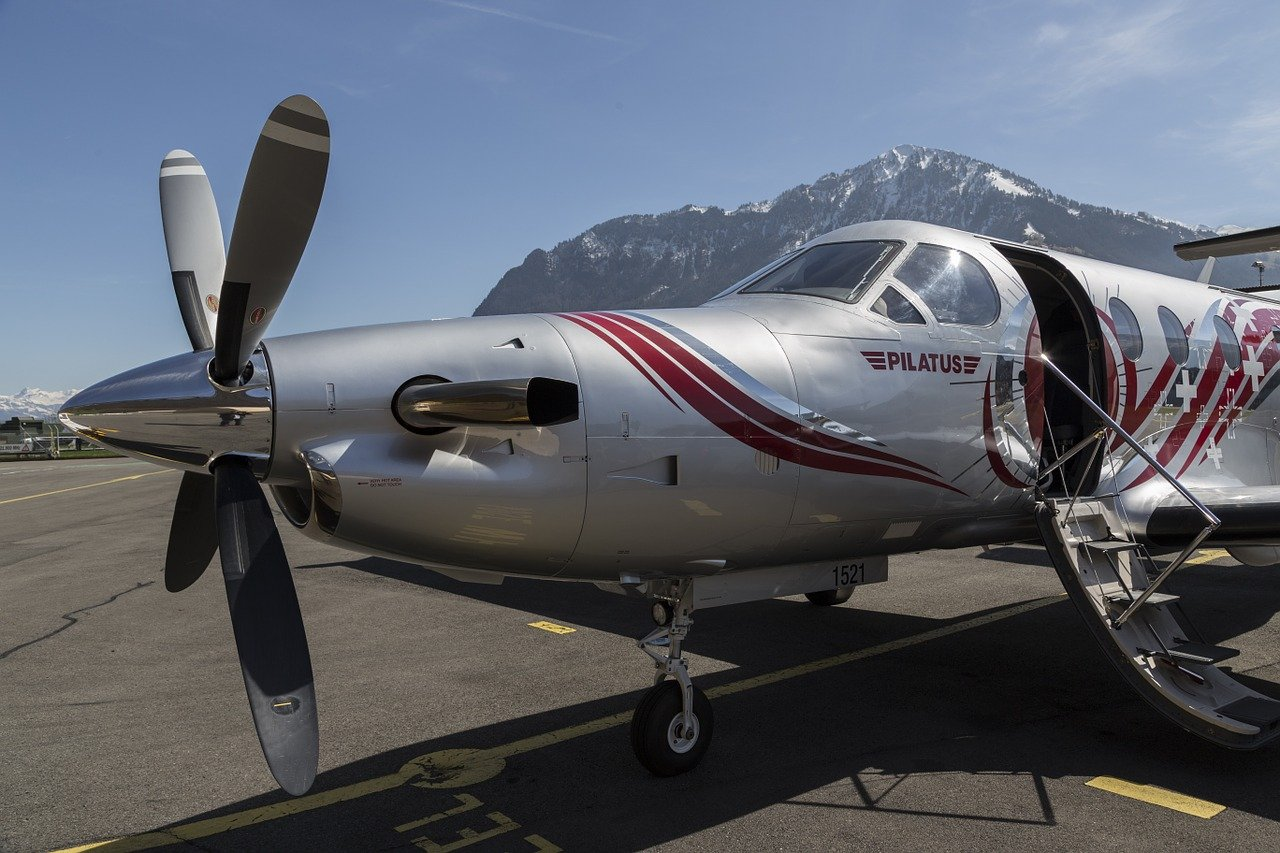 Un Pilatus PC-12 au sol. | Photo : Pixabay