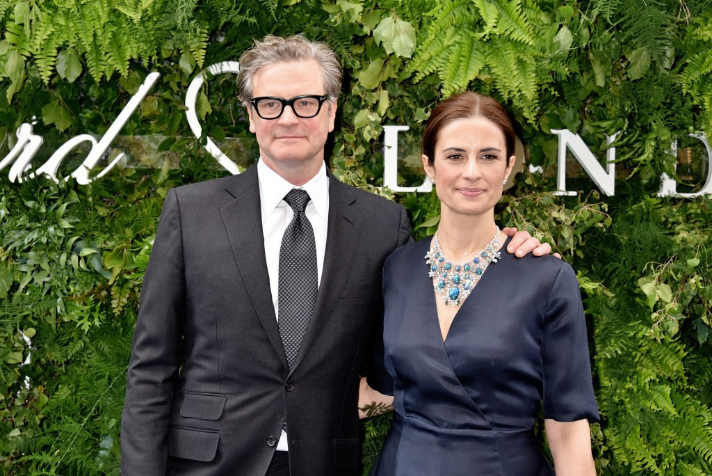 Colin Firth and Livia Firth attend the Chopard Bond Street Boutique reopening on June 17, 2019 in London | Photo: Getty Images