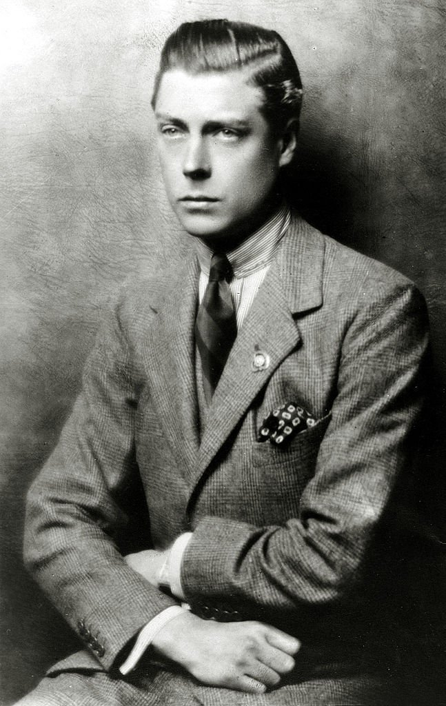 King Edward VIII in the UK circa 1919 | Photo: Getty Images