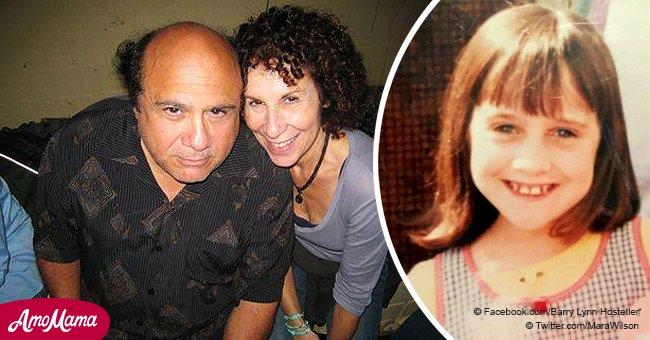 """Comment la jeune actrice de """"Matilda"""" était protégée par Danny DeVito pendant la maladie de sa maman"""