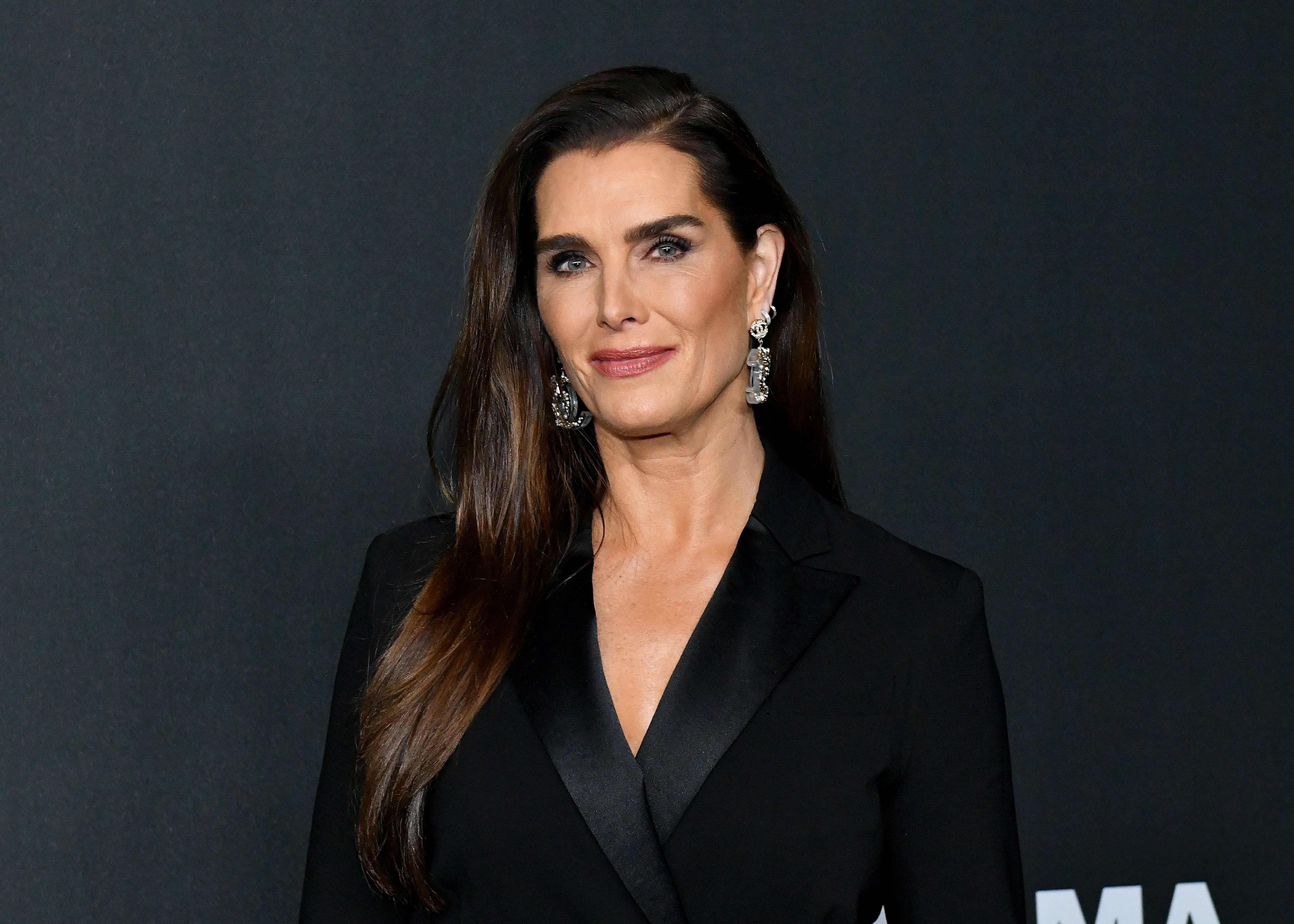 Brooke Shields at MoMA's Twelfth Annual Film Benefit Presented By CHANEL Honoring Laura Dern on November 12, 2019.   Photo: Getty Images
