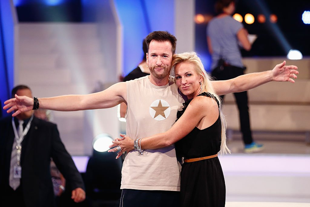 Michael Wendler und Claudia Norberg, Promi Big Brother | Quelle: Getty Images