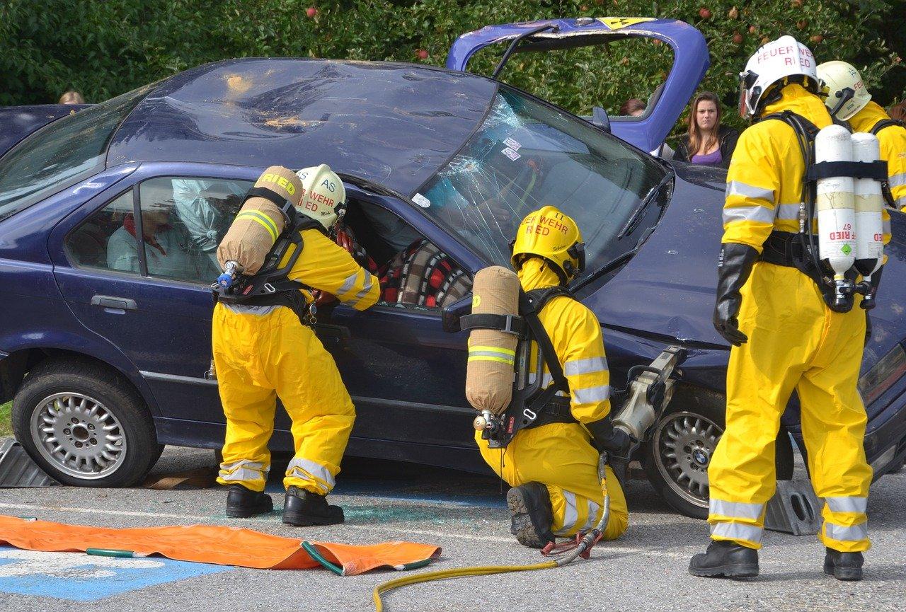 Un accident de voiture   Photo : Pixabay
