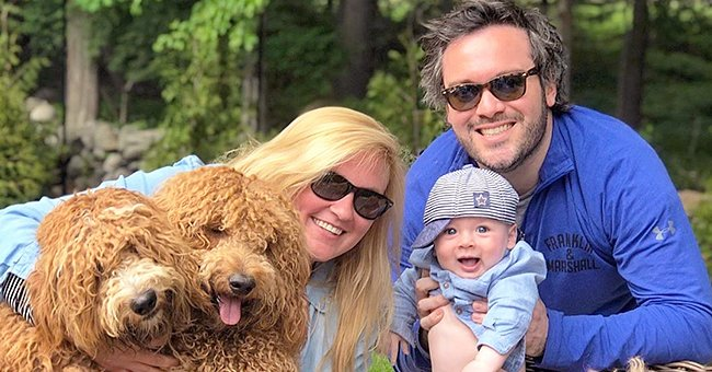 Goldendoodle Pup Gains 700k Instagram Followers by Posing with 6-Month-Old Baby Boy