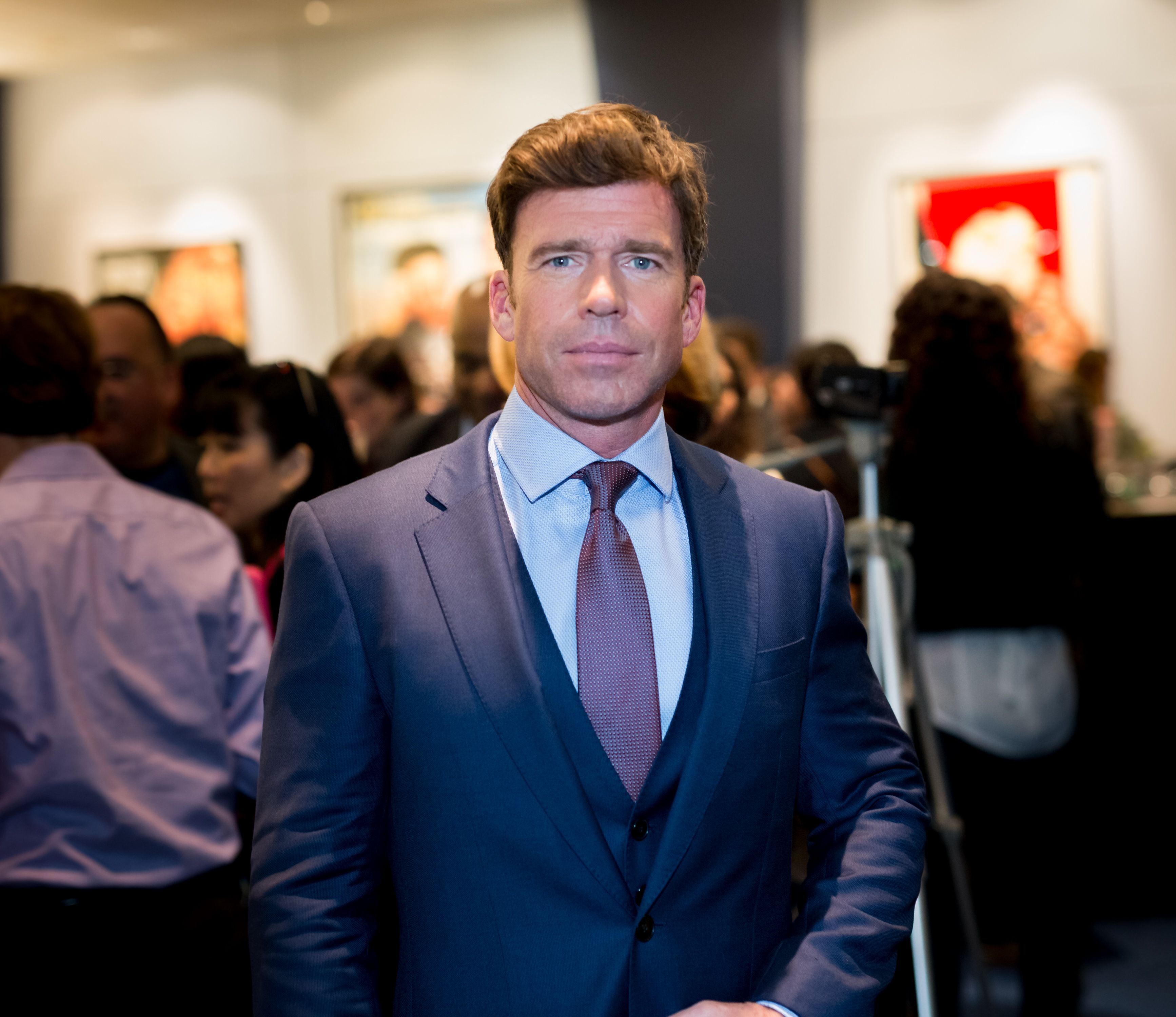 Taylor Sheridan during the Writers Guild's Beyond Words 2017 reception at Writers Guild Theater on February 9, 2017 in Beverly Hills, California. | Source: Getty Images