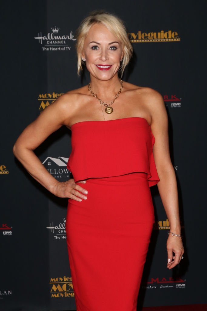 Josie Bissett at the 28th Annual Movieguide Awards Gala at Avalon Theater on January 24, 2020   Photo: Getty Images