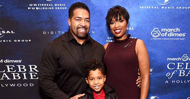 Watch Jennifer Hudson's Son David Jr Show off His Strength While Working Out with Dad (Video)