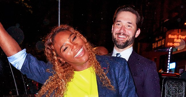 Serena Williams' Husband Alexis Has Fun with Daughter Olympia near a Graffiti Wall in New Snaps