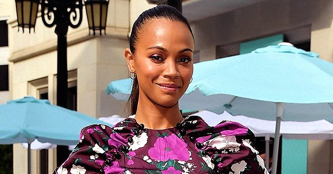 'Marvel' Star Zoe Saldana's 3 Long-Haired Sons Chill by the Lake — Here's the Sweet Picture