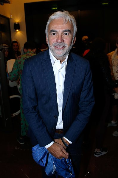 Pascal Praud au Cinéma Elysée Biarritz le 13 septembre 2017 à Paris, France. | Photo : Getty Images