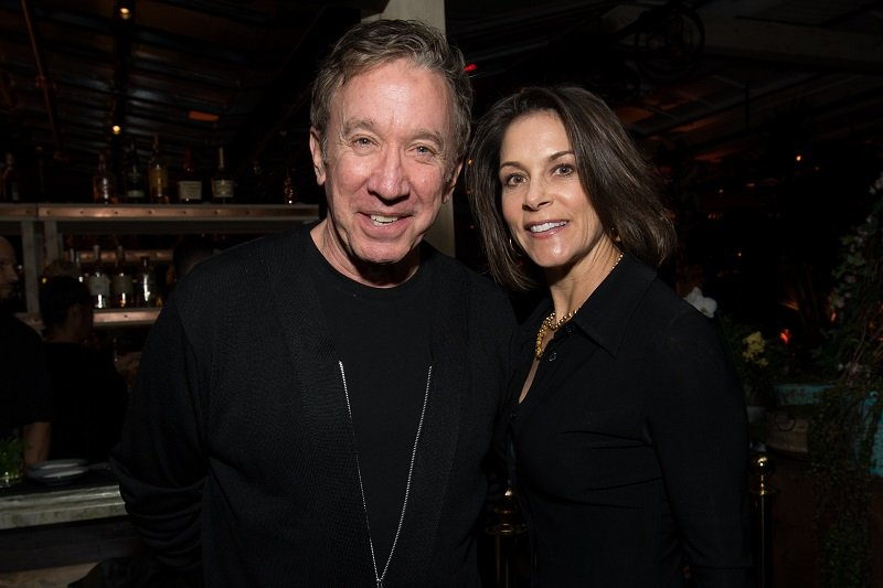 Tim Allen and Jane Hajduk on February 7, 2018 in West Hollywood, California | Photo: Getty Images