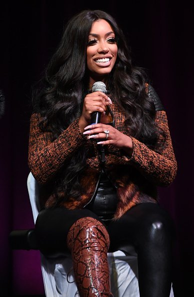 Porsha Williams at Cobb Galleria Centre on November 09, 2019 | Photo: Getty Images