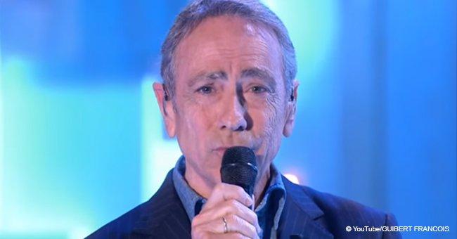 Alain Chamfort, les larmes aux yeux, a chanté une chanson touchante avec sa fille
