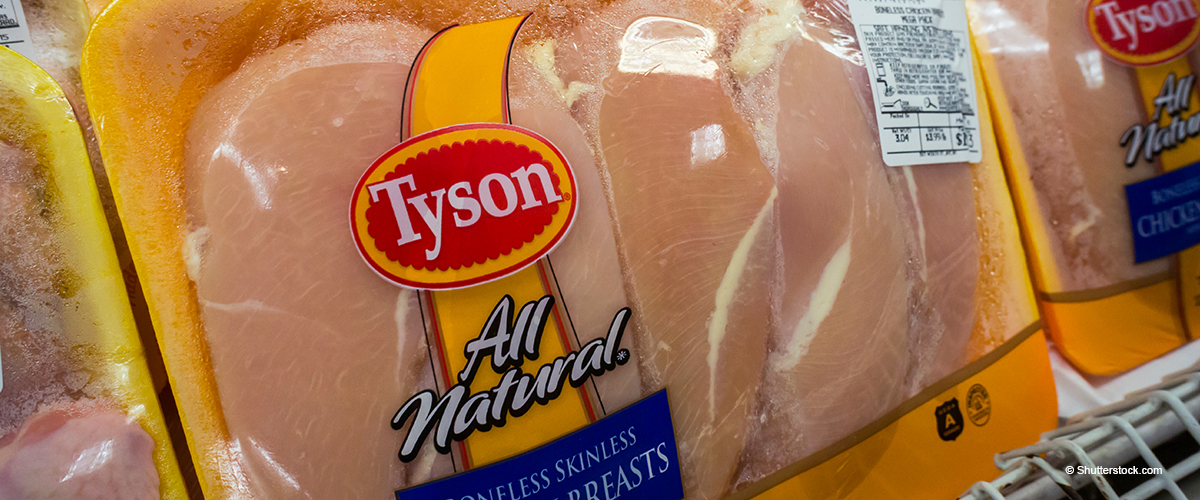 Tyson Foods Recalls 69,000 Pounds of Frozen Chicken Strips