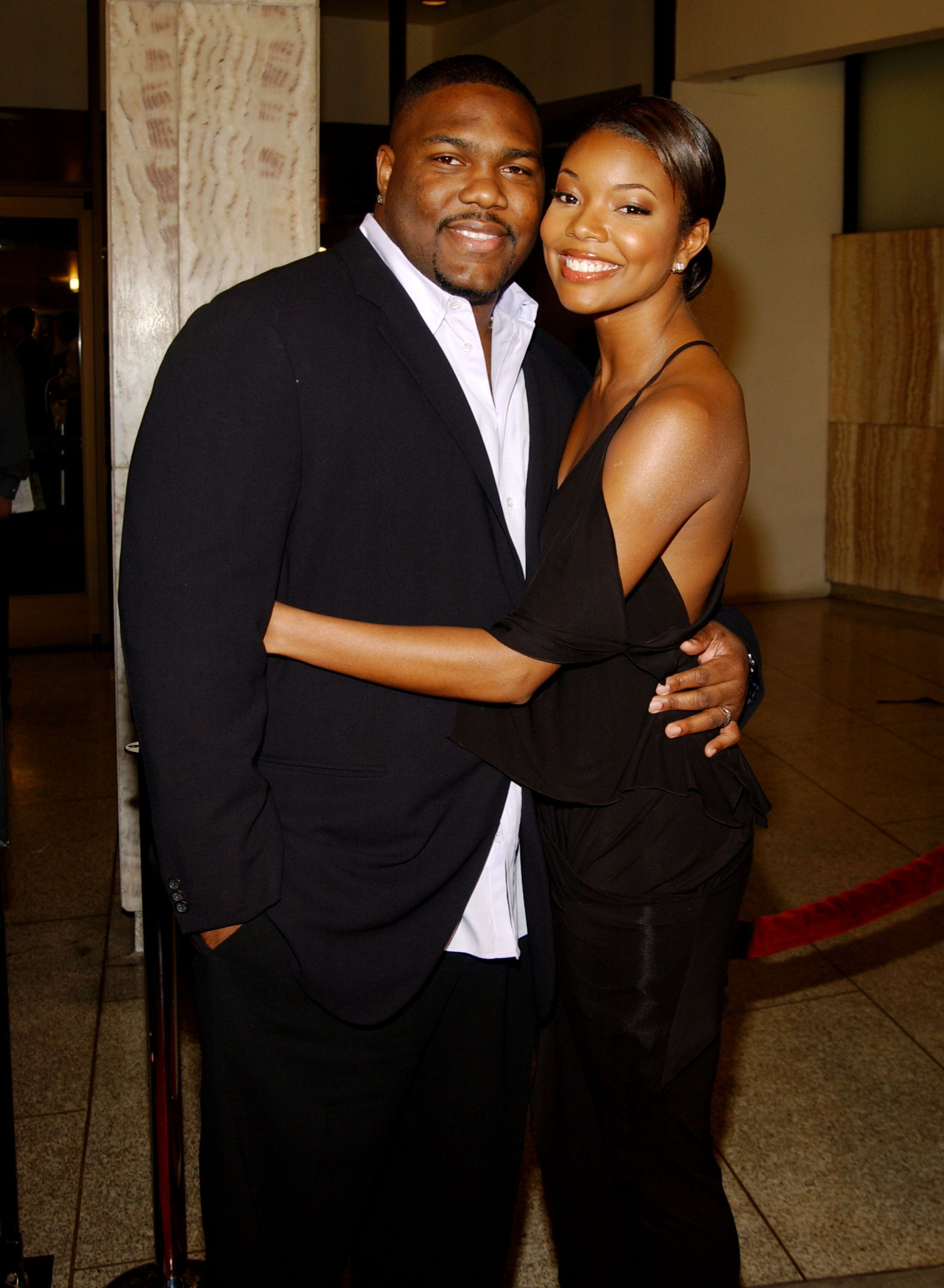 """Chris Howard and Gabrielle Union at the """"Deliver Us From Eva"""" premiere in Los Angeles in 2003 