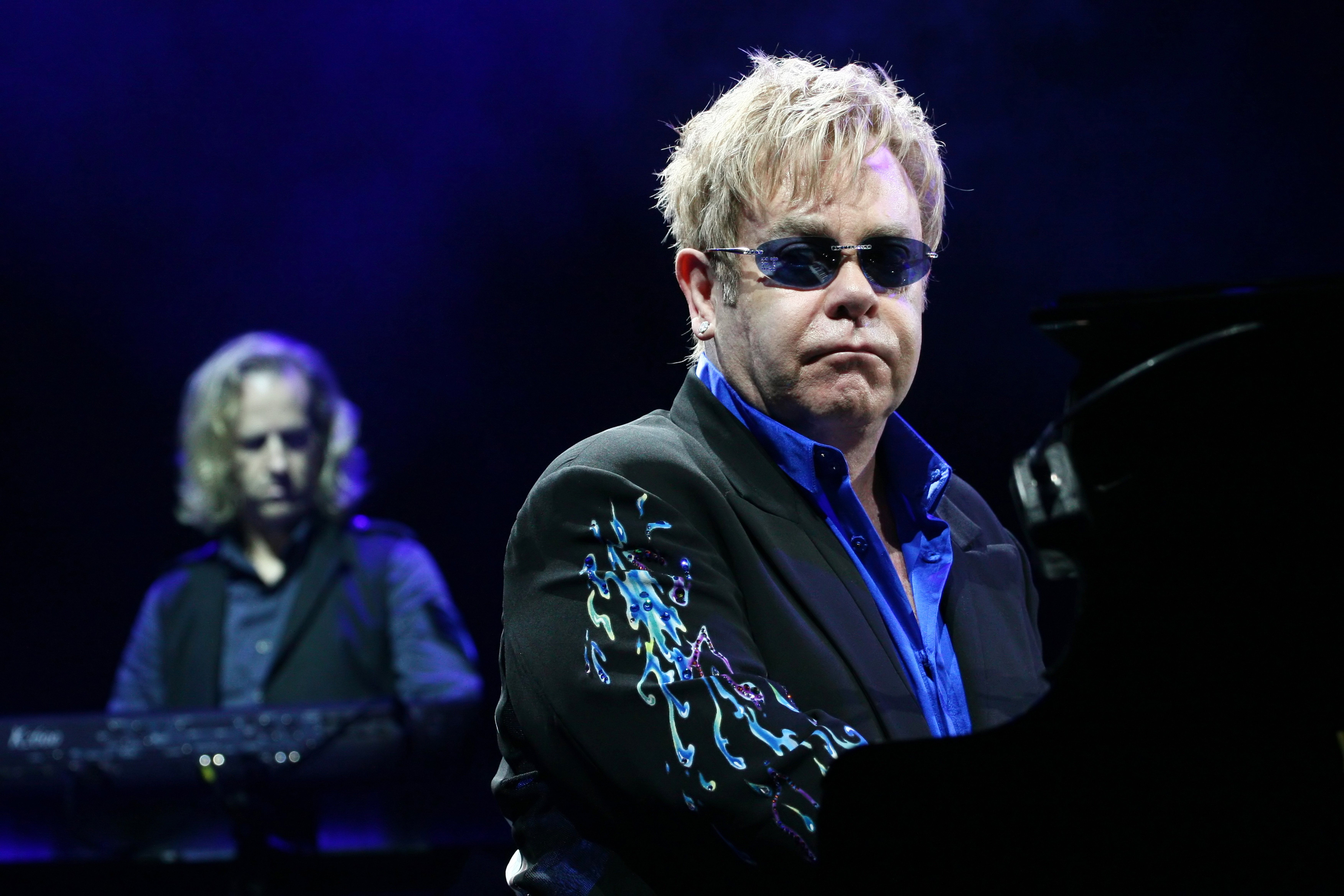 Singer Elton John performs onstage at Minsk Arena June 26, 2010 | Source: Shutterstock