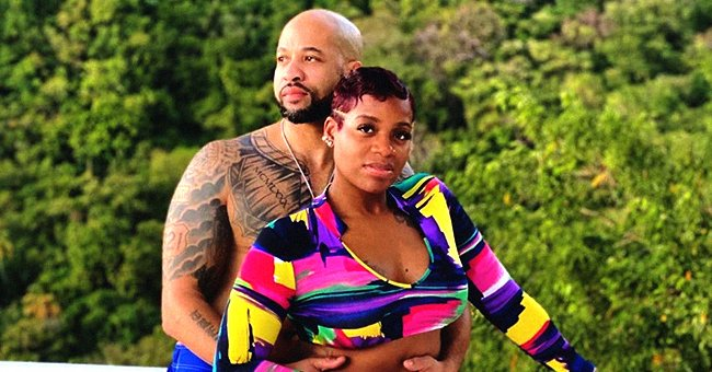 Fantasia of 'American Idol' & Husband Kendall Taylor Reveal Face Masks While Sitting in the Car Amid Coronavirus Pandemic (Photo)