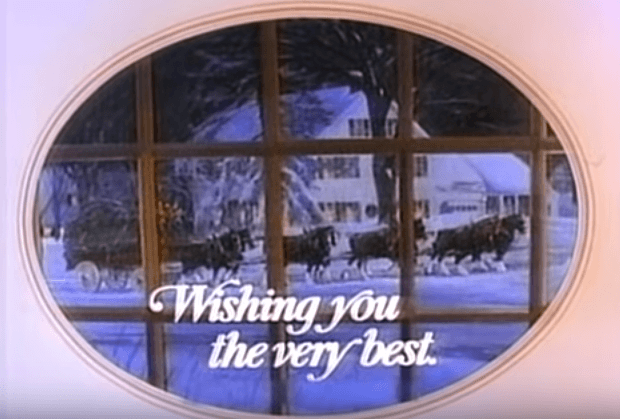 Budweiser's Christmas wishes from 1987 | Source: youtube.com