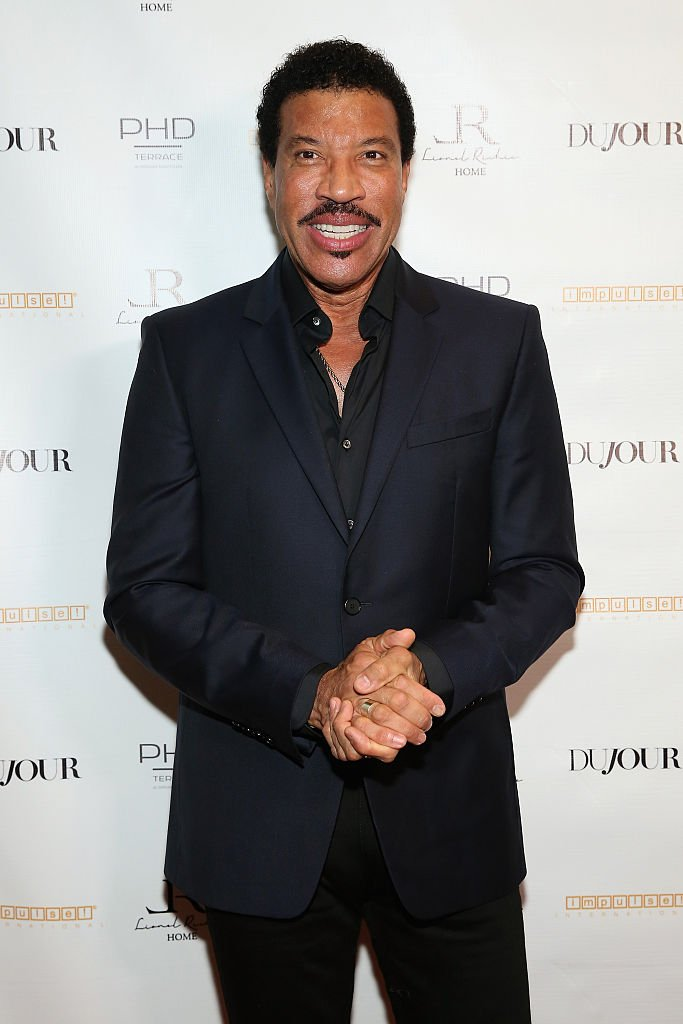 Lionel Richie pictured at Jason Binn's DuJour Magazine and Lionel Richie Home Collection launch, 2015, New York City. | Photo: Getty Images