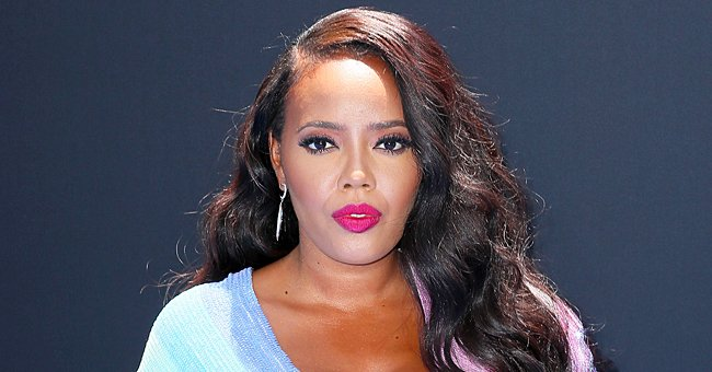GUHH Star Angela Simmons Turns up the Heat in Pink & Blue Bikinis — See the Stunning Photos