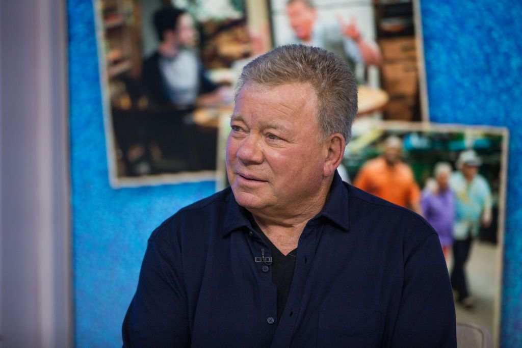 "William Shatner on ""Today"" Season 67, September 7, 2018. 