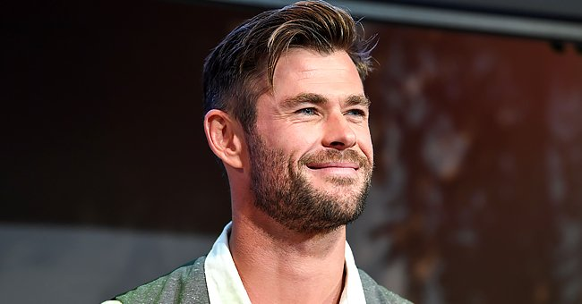 Chris Hemsworth Plays Golf with His Brother Liam and Young Son — See Hilarious Videos
