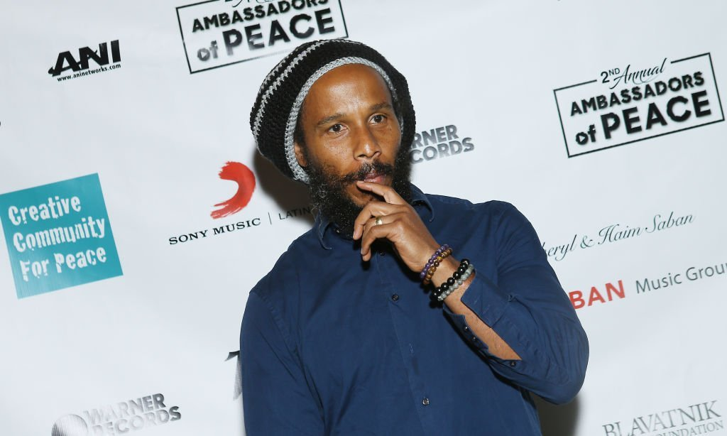 "Ziggy Marley attends the Creative Community for Peace's 2nd Annual ""Celebrating Ambassadors of Peace"" event held at a Private Residence 