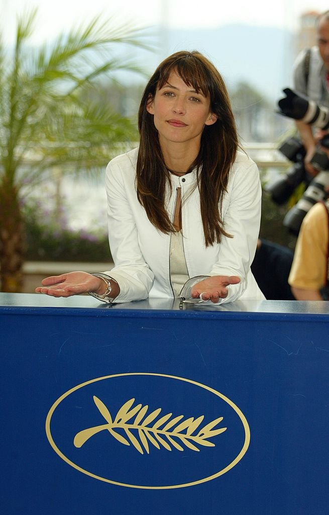 Sophie Marceau au Festival de Cannes en 2004. l Source : Getty Images