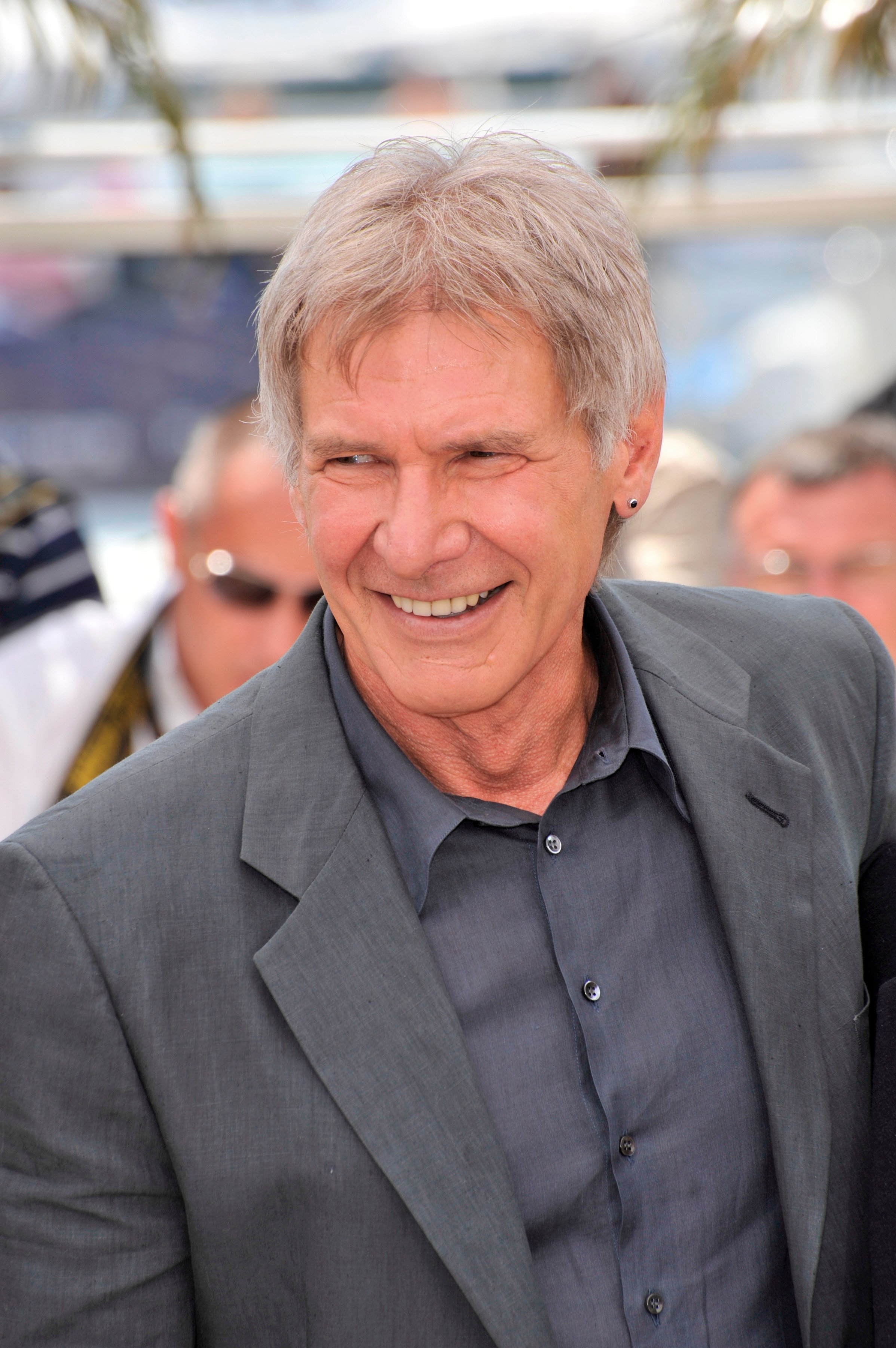 """Harrison Ford at photocall for """"Indiana Jones and the Kingdom of the Crystal Skull"""" at the 61st Annual Cannes Film Festival on May 18, 2008 Cannes, France 