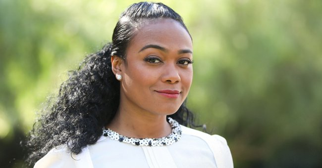 Tatyana Ali Poses with Husband Vaughn Rasberry and Son in a Cute Family Photo