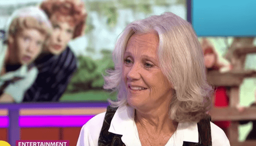 "Hayley Mills on ""Good Morning Britain."" 