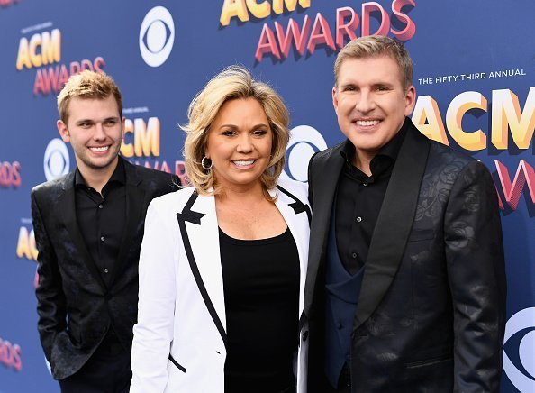 Chase Chrisley, Julie Chrisley, and Todd Chrisley attend the 53rd Academy of Country Music Awards at MGM Grand Garden Arena | Photo: Getty Images