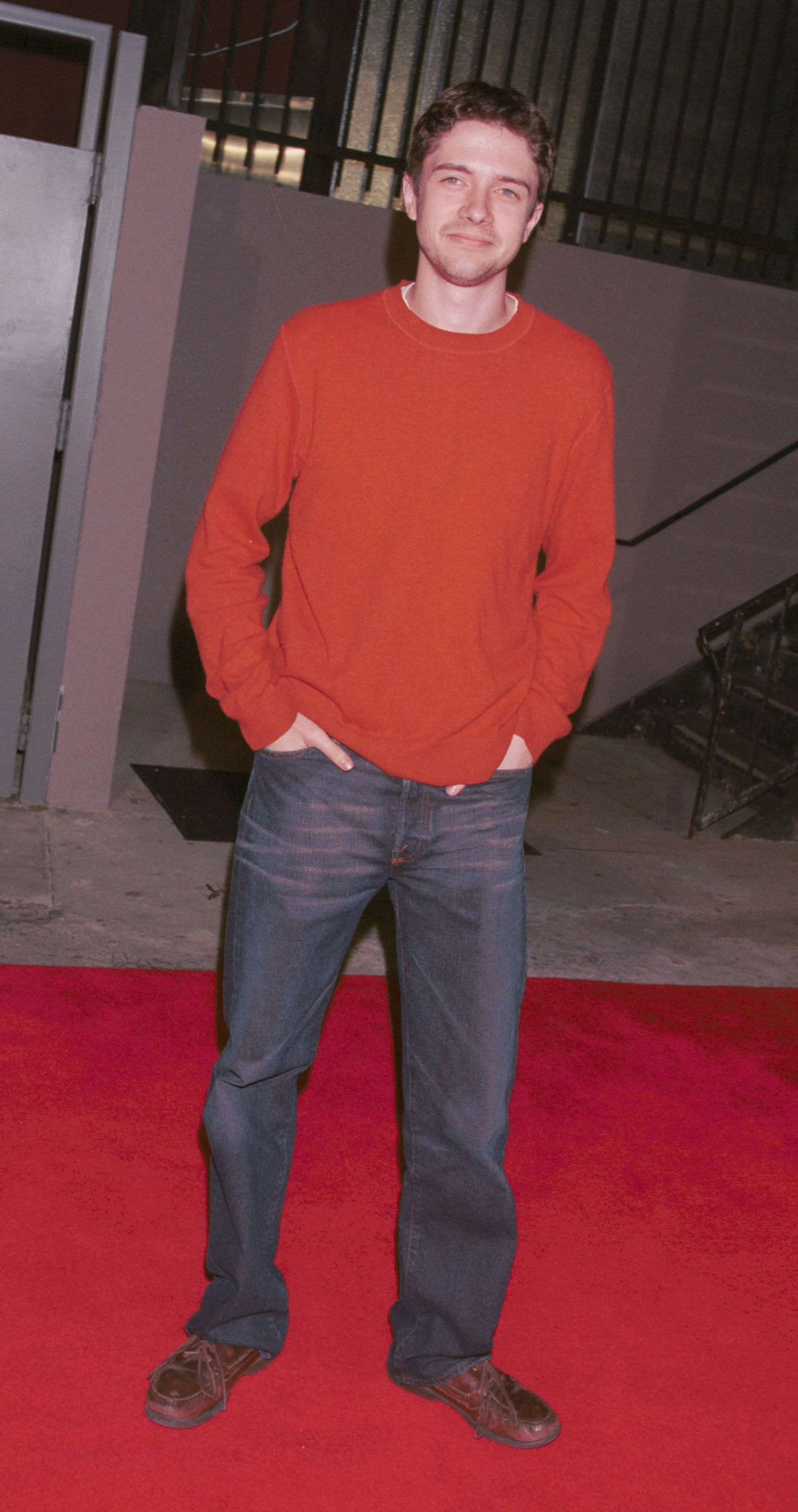 Topher Grace at the  Maxim Magazine's Hot 100 party May 3, 2001 in Hollywood, California. | Source: Getty Images