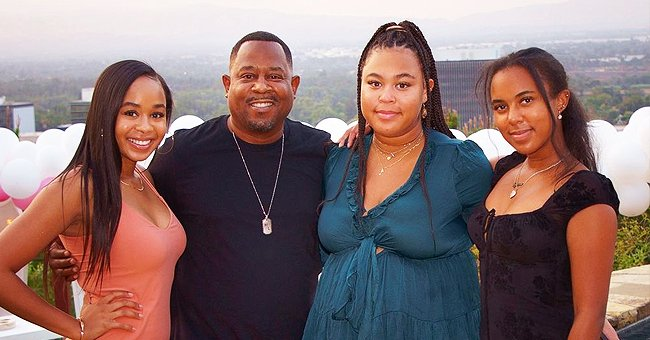 Martin Lawrence Shares a Snap with His 3 Daughters as He Honors All Dads in the Post