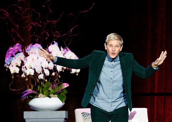Ellen DeGeneres at Rogers Arena on October 19, 2018 in Vancouver, Canada | Photo: Getty Images