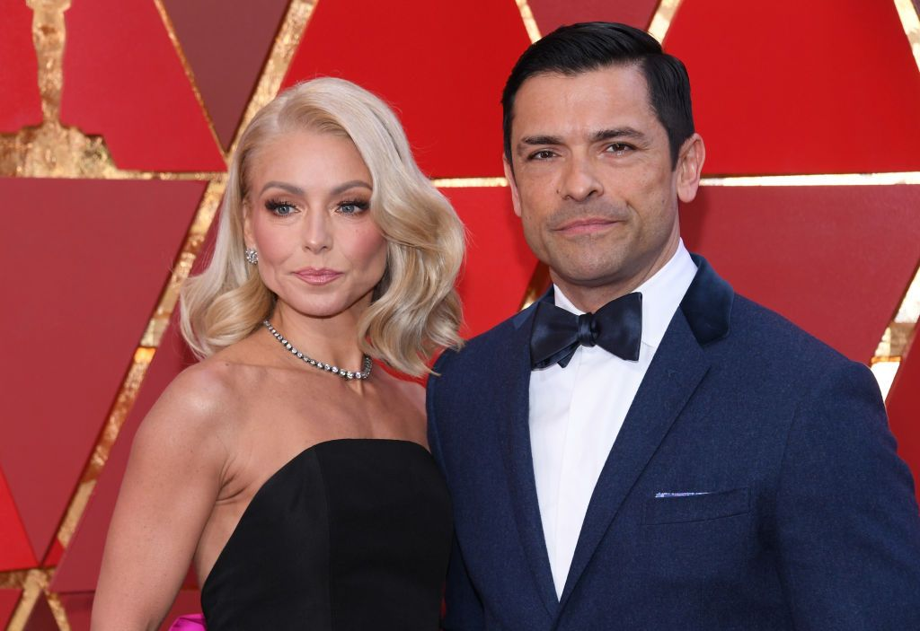 Kelly Ripa and Mark Consuelos at the 90th Annual Academy Awards at Hollywood & Highland Center on March 4, 2018 | Photo: Getty Images