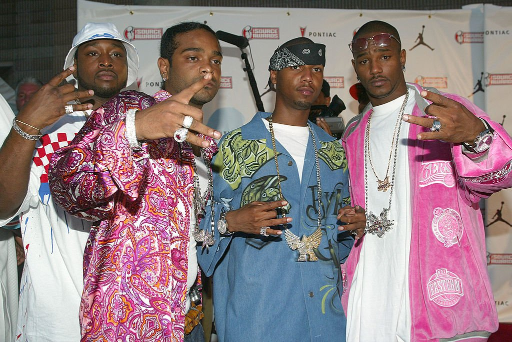 The Diplomats also known as The Dipset, attend the Source Hip-Hop Music Awards 2003 at the Miami Arena October 13, 2003 in Miami, Florida. | Photo: Getty Images