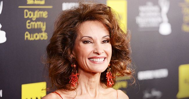 Susan Lucci Stuns in Gorgeous Black Gown in a New Photo