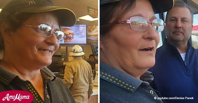 Une employée de McDonald's âgée de 53 ans éclate en sanglots après qu'un client aimable lui ait offert une voiture