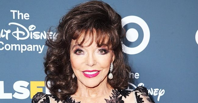 Joan Collins Jokes about Lockdown with a Jail Photo from Scene in 'Monte Carlo'