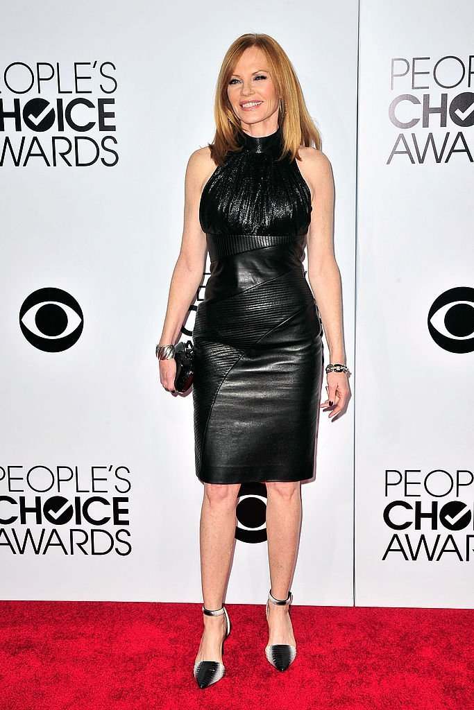Marg Helgenberger arrives at the 40th Annual People's Choice Awards at Nokia Theatre L.A. Live | Getty Images / Global Images Ukraine