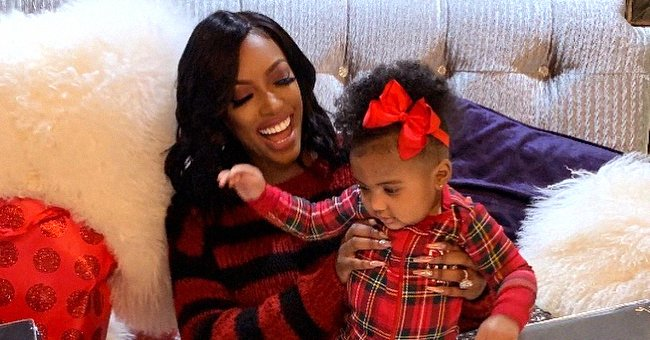 Porsha Williams from RHOA & Daughter Pilar Pose in Morning Selfie & Video That Show How Much They Look Alike