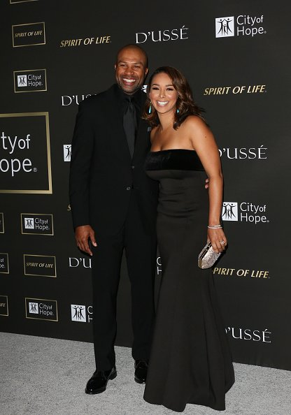 Derek Fisher and Gloria Govan attend the City of Hope Gala on October 11, 2018. | Photo: Getty Images