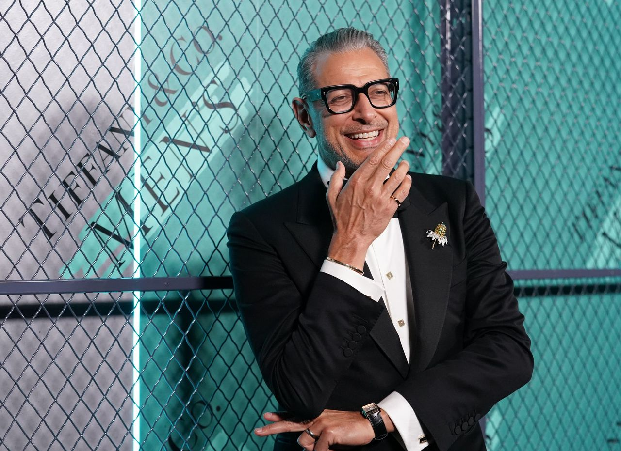 Jeff Goldblum attends Tiffany & Co. launch of the new Tiffany Men's Collections at Hollywood Athletic Club on October 11, 2019 in Hollywood, California. | Source: Getty Images