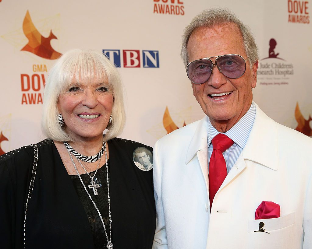 Shirley and Pat Boone at the 45th Annual Dove Awards in Nashville in 2014. | Photo: Getty Images